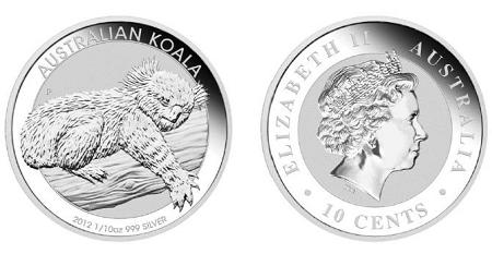 Flag Frame 2012 P Australia 1oz Silver Koala PCGS MS69