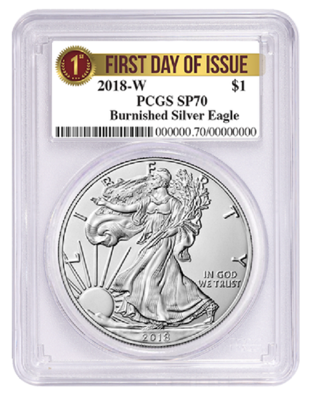 2018 1 Dollar Oz Silver Eagle Ngc Ms70 First Day Of Issue Moy Mercanti Jones Signed 3pc Set