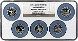 2004 S Silver Quarter Set NGC PF70 Ultra Cameo Multi-Holder