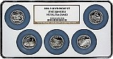 2006 S Silver Quarter Set NGC PF70 Multi-Holder