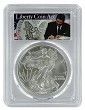 2007 1oz Silver Eagle PCGS MS69 - Liberty Coin Act Label