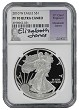 2010 W 1oz Silver Eagle Proof NGC PF70 Ultra Cameo - Elizabeth Jones Signed