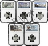 2011 S National Park Clad Quarter Set NGC PF70 Early Releases