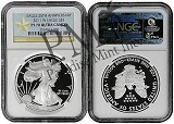 2011 W 1oz Silver Eagle Proof Ultra Cameo NGC PF70 Ultra Cameo West Point Label