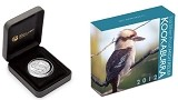 2012 Australia 1oz Silver High Relief Kookaburra Proof Coin