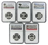 2013 S National Park Clad Quarter Set NGC PF70 Ultra Cameo