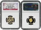 2013 Australia 1/4oz Gold Year of Snake NGC PF70 Early Releases Flag Label