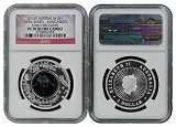 2013 P Australia Silver Opal Series Kangaroo NGC PF70 Ultra Cameo Early Releases Flag Label