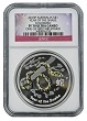 2013 P Australia Silver Colorized Snake NGC PF70 UC One Of First 500 Struck Flag Label