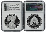 2013 W 1oz Silver Eagle Proof NGC PF69 Ultra Cameo - Liberty Label