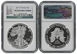 2013 W 1oz Silver Eagle Proof NGC PF70 Ultra Cameo - Christmas Label