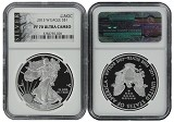 2013 W 1oz Silver Eagle Proof NGC PF70 Ultra Cameo - Liberty Label