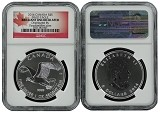 2014 Canada 1 oz Silver Birds of Prey Series Bald Eagle NGC Brilliant Uncirculated