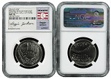 2014 D Baseball Hall Of Fame Young Collectors Set NGC MS70 Reggie Jackson