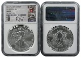 2014 Silver Eagle NGC MS70 MLB Players Series Bryce Harper