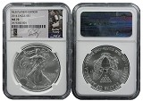 2014 Silver Eagle NGC MS70 MLB Players Series Buster Posey