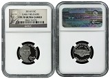 2014 S 5C Return to Monticello Nickel NGC PF70 UC Early Releases Portrait Label