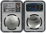 2014 P National Baseball Hall of Fame Silver Dollar NGC MS70 MLB Players Miguel Cabrera