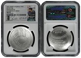 2014 P National Baseball Hall of Fame Silver Dollar NGC MS70 MLB Players Robinson Cano