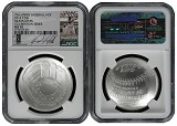 2014 P National Baseball Hall of Fame Silver Dollar NGC MS70 MLB Players David Ortiz