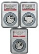 2014 Australian High Relief Silver Proof Three Coin Collection NGC PF69 Ultra Cameo