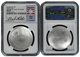 2014 P National Baseball Hall of Fame Silver Dollar NGC MS69 Babe Ruth Class Of 36 Label