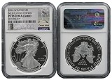 2014 W Proof Silver Eagle NGC PF70 UC MLB Players Series Derek Jeter