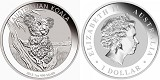 2015 Australia 1oz Silver Koala In Original Perth Airtite