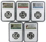 2015 S National Park Clad Quarter Set NGC PF69 Ultra Cameo