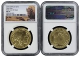 2015 $50 Gold Buffalo NGC MS70 - First Day Issue - Buffalo Label