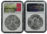 2015 1oz MLB Series Silver Eagle NGC MS70 St. Louis Cardinals