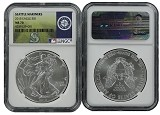 2015 1oz MLB Series Silver Eagle NGC MS70 Seattle Mariners