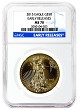 2015 $50 American 1oz Gold Eagle NGC MS70 Early Releases - Blue Label