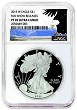 2015 W 1oz Silver Eagle Proof NGC PF70 UC - Fun Show Releases - Eagle Label