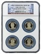 2015 S Presidential Dollar Four Coin Set NGC PF69 UC Early Releases - Presidential Label - Multi Holder
