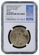 2015 W $50 Burnished Gold Eagle NGC MS70 First Day Issue