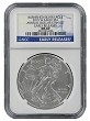 2015 W Burnished Silver Eagle From Annual Dollar Set NGC MS69 - Early Releases