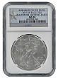 2015 W Burnished Silver Eagle NGC MS70 - Baltimore Show Releases