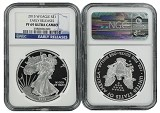 2015 W 1oz Silver Eagle Proof NGC PF69 UC - Early Releases - Blue Label