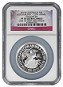 2015 Australia 1oz Silver High Relief 25th Anniversary Kookaburra NGC PF70 UC One of first 500 Struck Flag Label