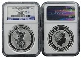 2015 P Australia 1oz Silver Koala NGC MS70 Early Releases Blue Label