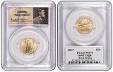 2015 $10 American 1/4th Gold Eagle PCGS MS70 First Strike St Gaudens Label