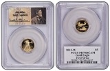 2015 W $5 1/10th Proof Gold Eagle PCGS PR70 DCAM First Strike - St Gaudens Label