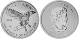 2015 Canada 1 oz Silver Birds of Prey Series Red Tailed Hawk
