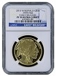 2015 W $50 Gold Buffalo Proof NGC PF70 Early Releases - Blue Label