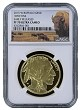 2015 W $50 Gold Buffalo Proof NGC PF70 Early Releases Buffalo Label