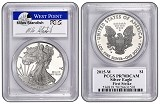 2015 W 1oz Silver Eagle Proof PCGS PR70 - First Strike - Standish Label