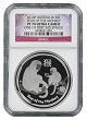 2016 P Australia 1oz Silver Proof Monkey NGC PF70 UC One of first 500 Struck Flag Label