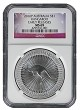 2016 P Australia Silver Kangaroo NGC MS69 Early Releases - Flag Label