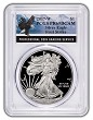 2017 W 1oz Silver Eagle Proof PCGS PR69 DCAM - First Strike - Eagle Label